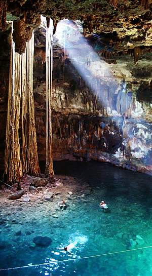 © Mexico Kan Tours - Cenote - Chichen Itza - Valladolid - Mexique