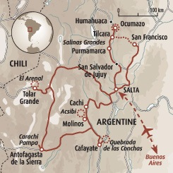Circuit carte Argentine : Immersion nord-ouest argentin, Altiplano et Puna argentine