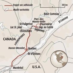 Carte Canada Chicoutimi.Fjord Du Saguenay Et Monts Valin Quebec En Hiver