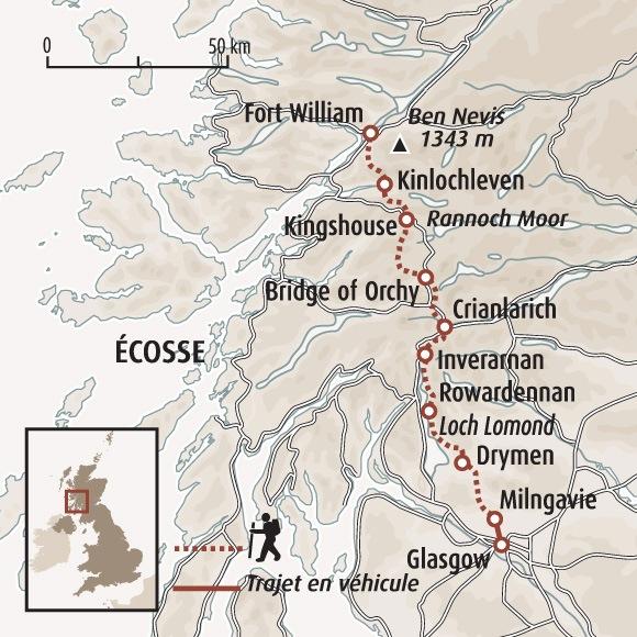 Extrêmement Le West Highland Way - Randonnée Highlands - Ascension Ben Nevis UB08