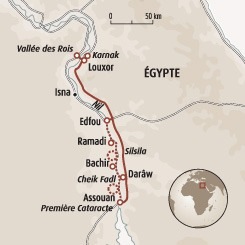 Circuit carte Egypte : Randonnée le long du Nil