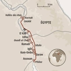 Circuit carte Egypte : Le long du Nil