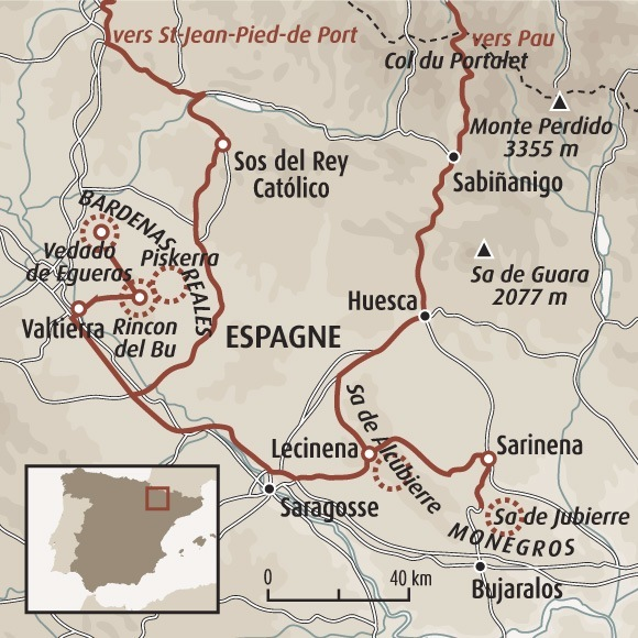 Déserts des Bardenas et Monegros   Randonnée Bardenas – Désert