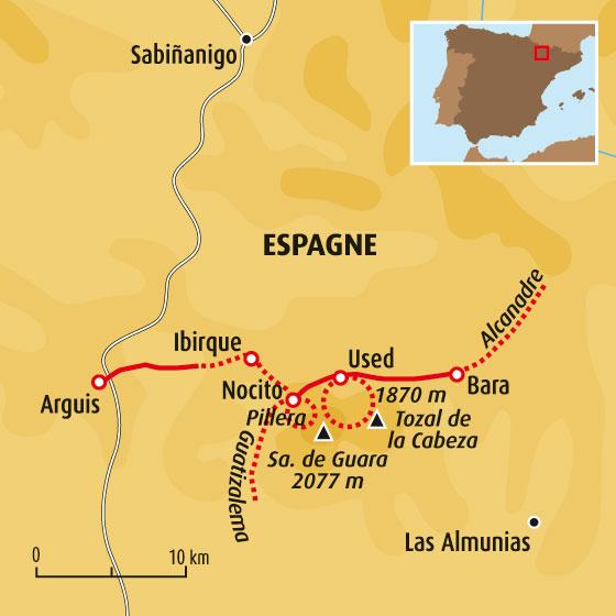 Balades aquatiques en Sierra de Guara   Randonnée Aragon