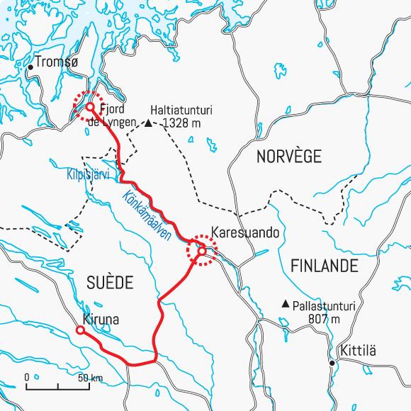 Célèbre Sur la route des aurores en Laponie - Voyage Laponie - Aurores  GK82