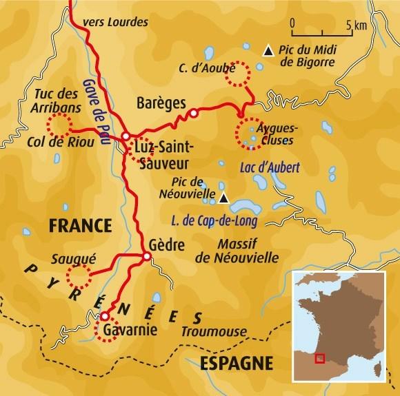 Luz-Saint-Sauveur France  city images : ... Pyrénées Circuit accompagné Luz Saint Sauveur, au cœur des Gaves