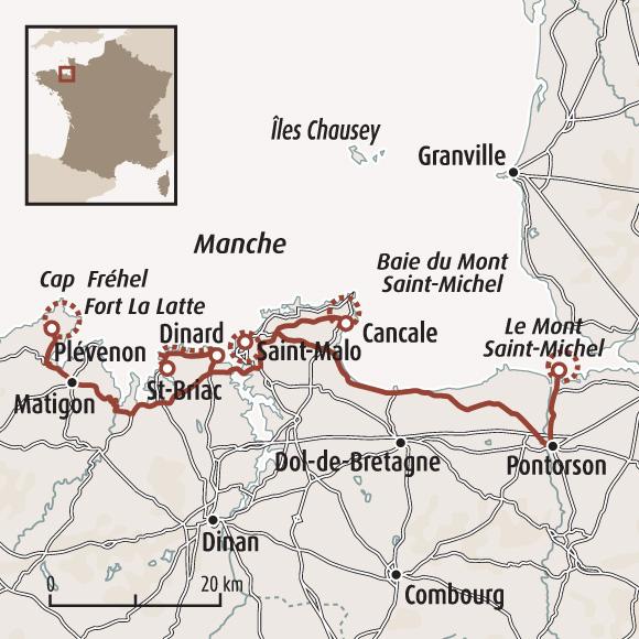 Randonn e mont saint michel randonn e saint malo - Cancale office du tourisme ...