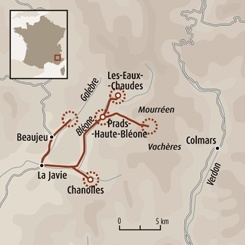 Circuit carte France : Davy Crockett en Haute Bléone