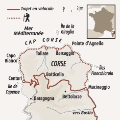 Circuit carte France : Cap Corse