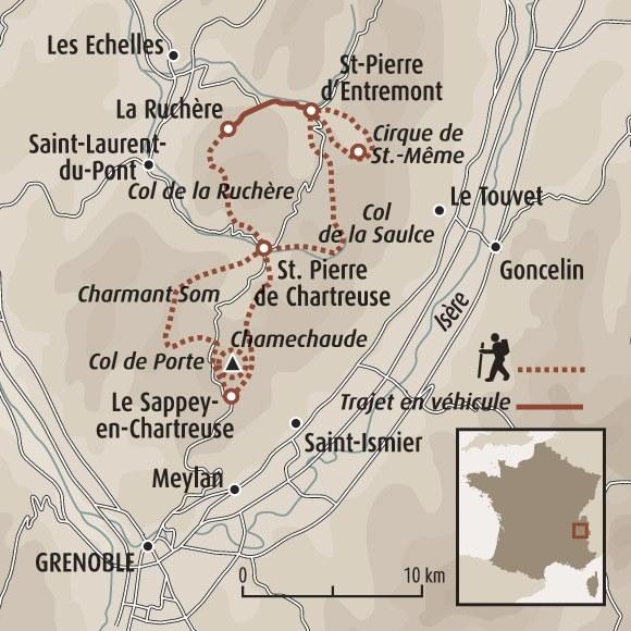 La chartreuse insolite randonn e chartreuse randonn e - Office du tourisme st pierre de chartreuse ...