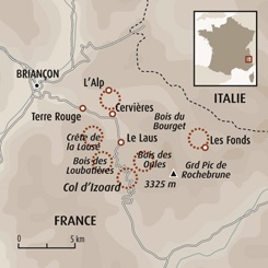 Circuit carte France : Escapade buissonnière à Cervières