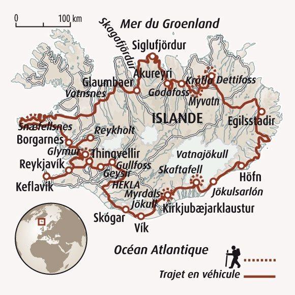 Route Numero  En Islande