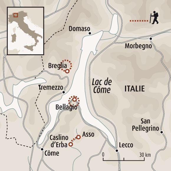 Assez Le lac de Côme - Voyage grands lacs italiens – Randonnée lac de côme GR15