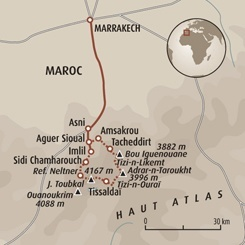 Circuit carte Maroc : Toubkal, ascension sportive