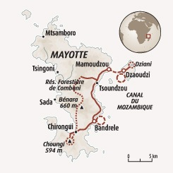 Circuit carte Mayotte : De lagon en champ d'ylangs-ylangs