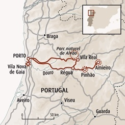 Circuit carte Portugal : Porto et vignobles du fleuve d'or