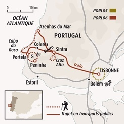 Circuit carte Portugal : Découverte de Lisbonne, princesse du Portugal