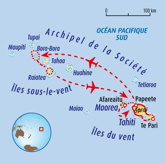 Cd voyages et rencontres a tahiti
