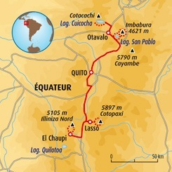 Circuit carte Equateur : Ascension du Cotopaxi (5897m)