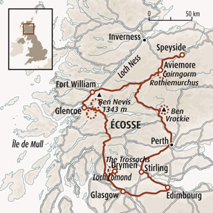 Circuit carte Ecosse : Au cœur des Highlands