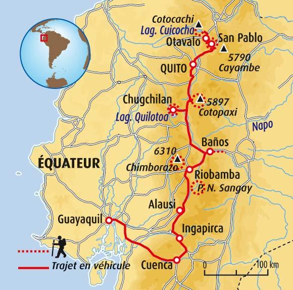 Voyage Equateur - Autotour Equateur - Trek Cotopaxi - 14 jours