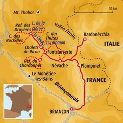 Circuit carte France : L'air pur de nos montagnes