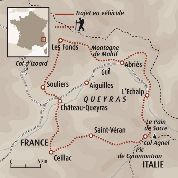 Tour Du Queyras Carte.Tour Du Queyras