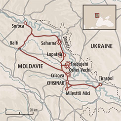 Circuit carte Moldavie : Secrets de Bessarabie