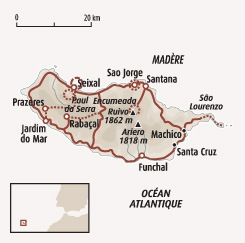 Circuit carte Portugal : Madère authentique