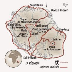 Circuit carte Réunion : L'île intense dans tous les sens !