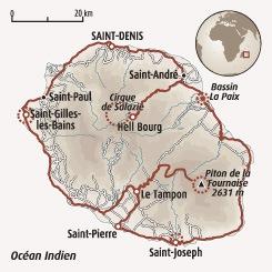 Circuit carte Réunion : Rencontres en terre créole