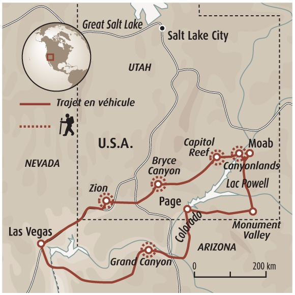 Utah Et Arizona Les Parcs De L Ouest Autotour Ouest