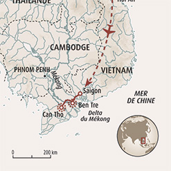 Circuit carte Vietnam : Périple en Indochine