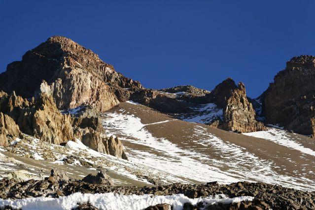 Montée vers les sommet de l Aconcagua - Argentine