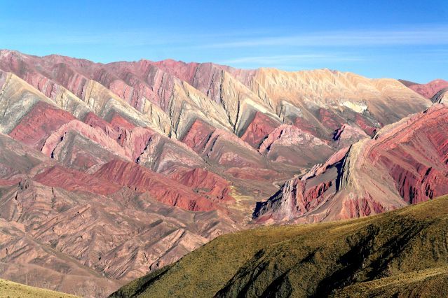 Serranias del Hornocal - Jujuy - Nord-ouest argentin - Argentine
