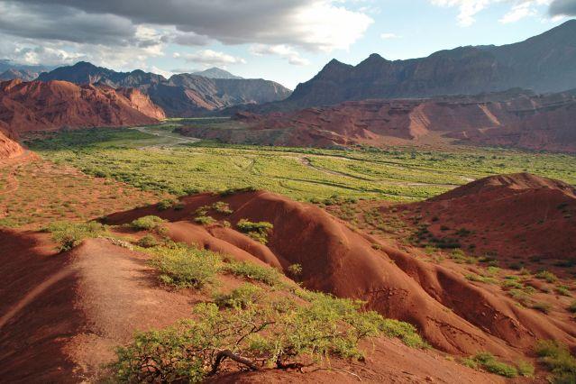 Canyon de rochers rouges - Quebrada de las Conchas - Cafayate - Argentine