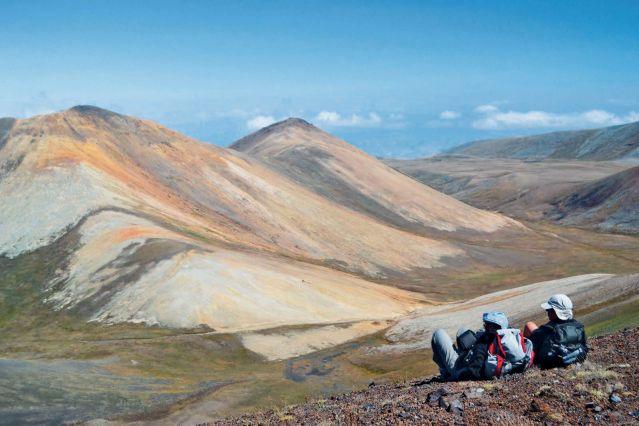 Oukhtassar vue du sommet - Arménie
