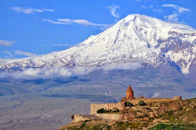Khor Virap au pied du mont Ararat - Arménie