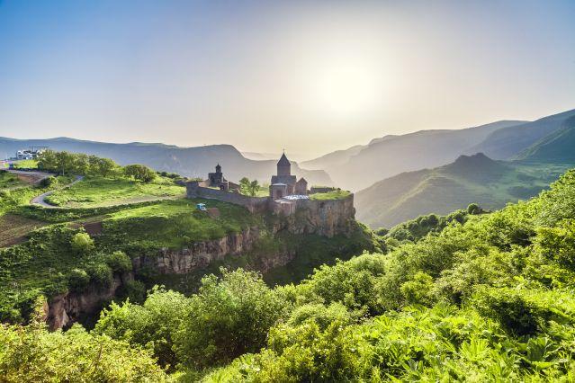 Ancient monastery - Tatev - Arménie