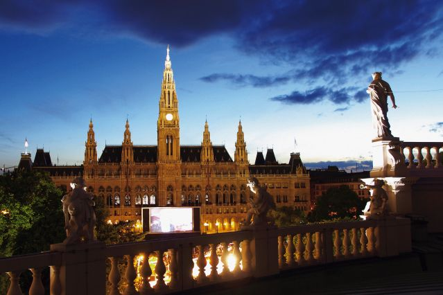 Rathausplatz - Vienne - Autriche