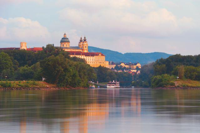 L abbaye de Melk - Sur les rives du Danube - Autriche