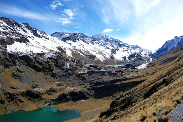 Laguna Q ara Quta et Laguna Khotia - Cordillère Royale - Bolivie