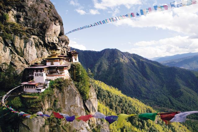 Monastère Taktsang Palphug - Bhutan