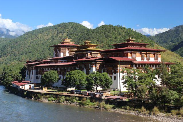 Le Dzong de Punakha - Bhoutan