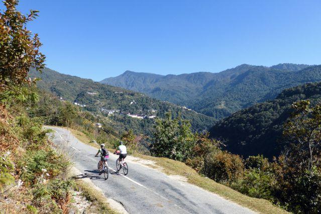 Le Bhoutan à vélo