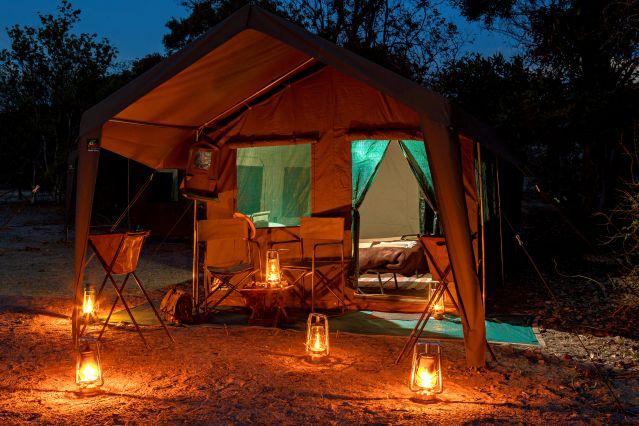 Morula Tent - Botswana