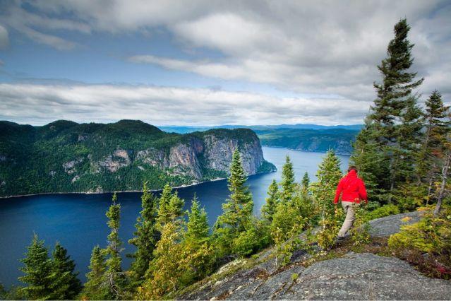 Fjord à Saguenay-Lac-Saint-Jean - Parc national du Saguenay - Québec - Canada