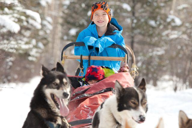 Jeune musher - Canada