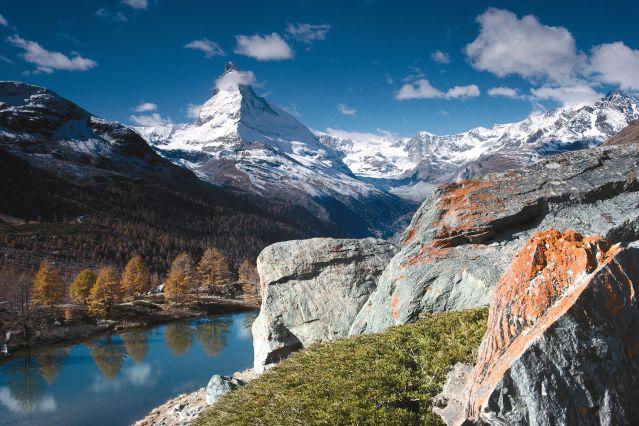 Randonn 233 E Chamonix Sur Le Chemin De Chamonix Zermatt