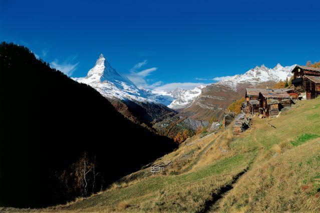 Vue sur le Cervin près de Zermatt - Suisse